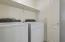 Laundry closet on first floor!