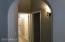 Hallway to split bedrooms and Bath