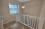 Custom Baby Gates at Stairwell