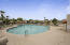 Suntree East boasts an oversized community pool with spa, restrooms and shower.