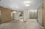 Wide hallways and open space make this home perfect for anyone needing an ADA friendly home.