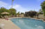 Enjoy your own private pool, citrus trees and a side yard with storage sheds.