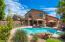Rear Elevation - 9692 E Sharon Dr. Scottsdale, AZ 85260
