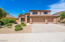 Front Elevation - 9692 E Sharon Dr. Scottsdale, AZ 85260 - 3 Car Garage.