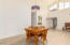 Soaring vaulted ceilings and natural lighting