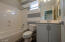 Full ensuite bath for upstairs secondary bedroom