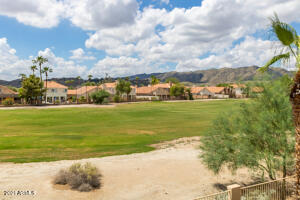 Amazing golf course and mountain views from balcony