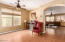 Formal living and/or family room