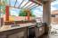 Granite Counters, sink and fridge!