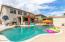 Huge backyard with pool!