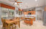 Entertaining Kitchen and Dining area