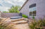 Spa surrounded by tiered layers of flagstone