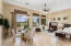 WITH CASUAL DINING AREA OVERLOOKING GOLF COURSE