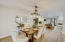 Dining area is conveniently located next to the kitchen and adjacent to the spacious living area