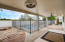 Very large covered patio is a great space for lots of outdoor enjoyment