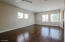 Casita with full bathroom, sink area, refrigerator and washer and dryer