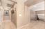 Tile hallways upstairs.