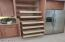Very large pantry with slide out drawers, lots of storage!