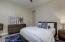 Bedroom 2 with jack/jill bath leading to bedroom 3