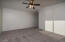 All carpet has been recently installed. It is multi colored multi textured Taupe.