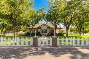 Welcome home! Beautiful farm style home with all the charm of a southern estate.