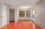 Incredible Great Room with Golf Course Views (16th), Slate Stone Fireplace, Cherrywood Manufactured Floors, Ceiling Fan w/Light and super soft White/Gray pallet Interior Colors