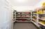 Large walk-in pantry!