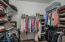 Primary oversized closet