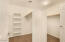 Large Walk-in Master Bedroom Closet