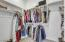 Oversized owners closet.