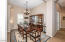Formal Dining Area with Plantation Shutters