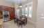 Eat-In Kitchen with Plantation Shutters