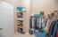 Owner's Suite Master Walk-In Closet
