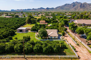 Over an acre lot with no HOA