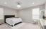 Master bedroom chandelier does not convey