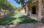 Back yard with fake grass!