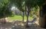 Relaxing paradise with water fall pond, fruit trees and shade!