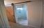 Master Bath also has a beautiful barn door to separate the shower and toilet room