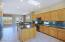 Panoramic view of the right side of the kitchen