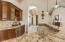 This wet bar is the perfect place to stage large family/friend dinners.