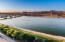 Tempe town lake which allows paddle boarding and boating.