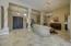 Sitting room & foyer