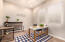 Bedroom or office off of garage entry