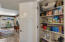 Ample storage in this Kitchen pantry