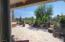 Extensive travertine patio area with spa and VIEWS!