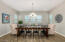 Dining room large enough to accommodate 10 people or more!