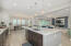 Light and bright living/dining/kitchen!