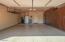 Built-in storage, epoxy floor