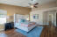 your spacious and serene master suite!