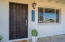 Front Door View of 1225 E Butler Drive Phoenix, AZ 85020. Take note of the new windows
